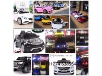 Largest Range Of Kids-Ride-On Cars From £100, Parental Remote & Self Drive