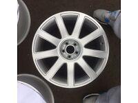 "Genuine Audi 18"" TT alloys (5x100)"