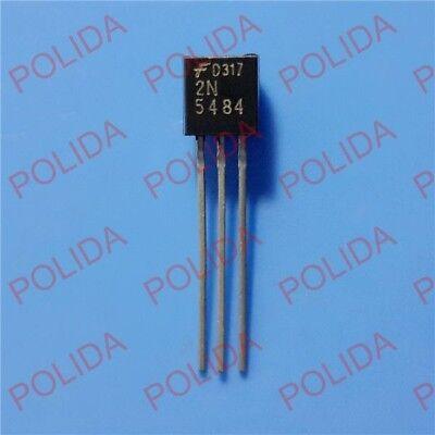 5pcs Rfvhfuhf Jfet Transistor Fairchildsiliconixvishay To-92 2n5484