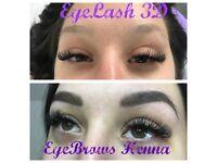 Eyebrows Henna