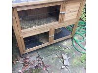 Rabbit outdoor hutch