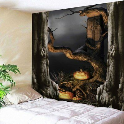 Large Halloween Decor Tapestry Wall Hanging Wall Art for Bedroom Dorm Decor](Halloween Dorm Decorations)