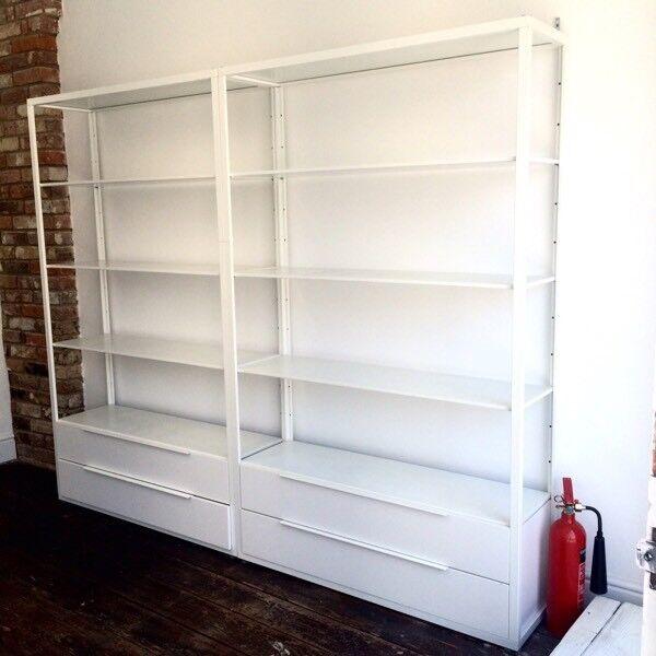 Ikea Fjalkinge Shelves W Drawers In Worthing West