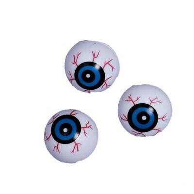 Halloween Eyeball Ping Pong Balls (Party Halloween Loot Bag Bags 10 Plastic Eyeball Eye Ball Ping Pong Balls)