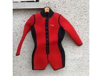 Ladies shortie wetsuit