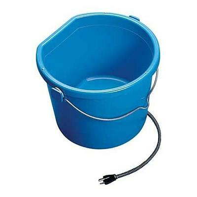 (Heated Flat Back Bucket Allied Precision 5 Gallon Horse Drinking Water Barn New)