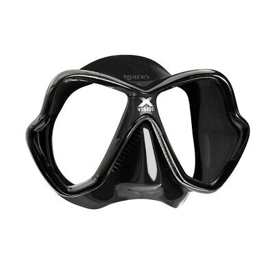 Mares X-Vision Ultra Liquid Skin Mask Black/Black Spear Fishing, Free Dive