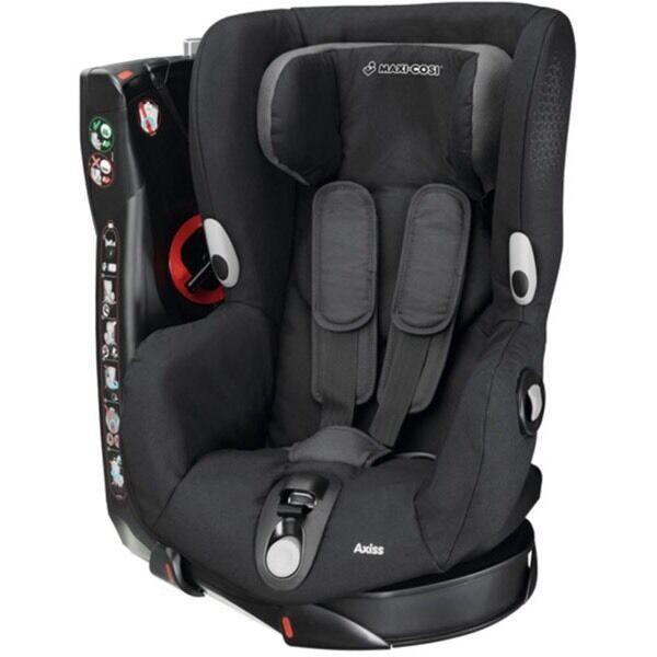 maxi cosi axiss swivel car seat black crystal in radyr cardiff gumtree. Black Bedroom Furniture Sets. Home Design Ideas