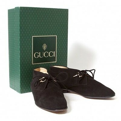 (SALE) GUCCI Suede shoes Size 35.5(K-27008)