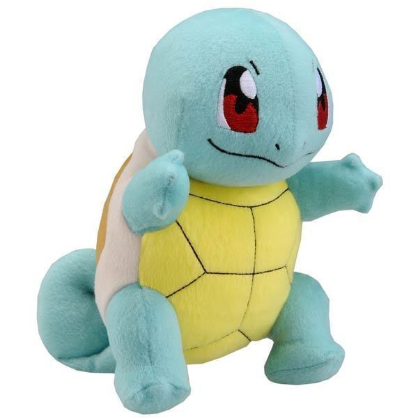 Pokemon XY 15cm Squirtle Plush Toy - Brand New Official TOMY Merchandise
