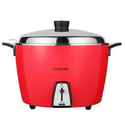 New TATUNG TAC-20L-DV2R 20 CUP Rice Cooker ( Stainless Inner Pot ) AC 220V - Red