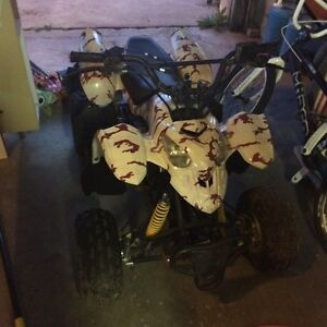 Family Quad Pack 4 quads 1 dirt bike