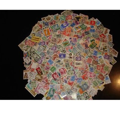 LOT 1000 STAMPS WORLDWIDE