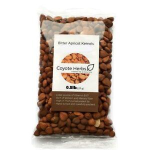 Bitter apricot kernels / organic / raw apricot seeds / sun dried / 0,5 LB - 8 OZ