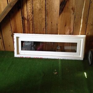 Bran new transom window