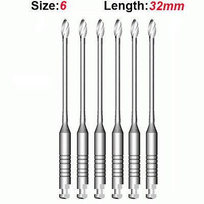 Top Quality Endo Dental Endodontic Gates Glidden Drills 6 32mm 6pkg