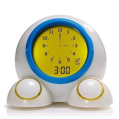 NEW American Innovative Teach Me Time! Talking Alarm Clock and Nightlight