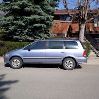 1998 Honda Odyssey LX (with winter tires)