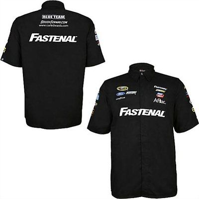 Carl Edwards Chase Authentics  99 Fastenal Pit Shirt Free Ship