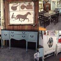 ANTIQUE REFINISHED SIDEBOARDS, cabinets., & more!