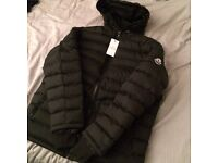 Moncler Puffer Jackets M L XL Black And Navy
