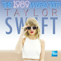 2 Taylor Swift The 1989 World Tour Tickets