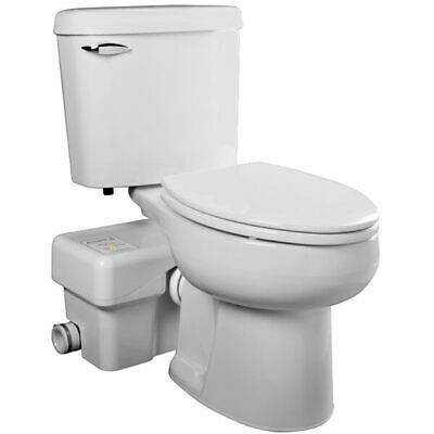 Liberty Pumps Ascentii-esw - 12 Hp Complete Toilet Macerator System Elongat...