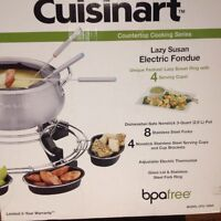The complete fondue kit Cuisinart 50% off