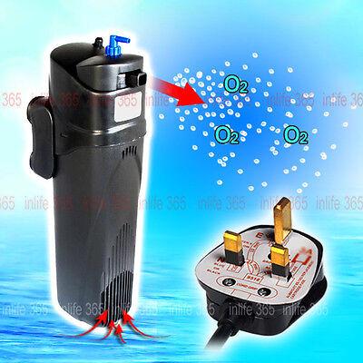 Aquarium Filter Pump 9W UVC Light Sterilizer Germicidal Lamp UV 800L/H MultiFun