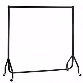 6 ft clothing rail , metal ones i have 15 of them and other sizes avaiable , with extension bars