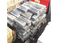 Bradstone Ancestry Garden Walling Blocks In Abbey Storm Unused