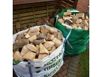Seasoned dry logs