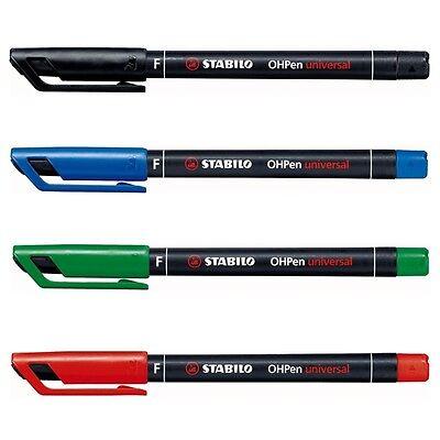 Stabilo Oh Pen Permanent Marker Pen Fineliner Fine 0.7mm - Select 1 Or All Color