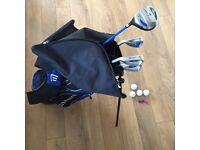 Masters Junior Golf Set with bag