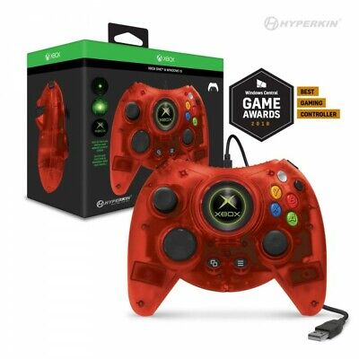 Hyperkin Xbox Uno Duque con Cable Control USB Rojo Para Microsoft Xbox...