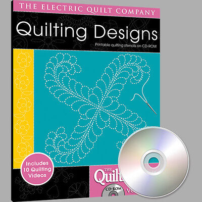 QUILTMAKER QUILTING DESIGNS Volume 4 Software NEW CD Quiltmaker Quilting Designs