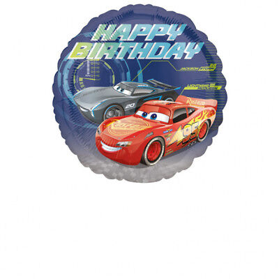 Folienballon CARS Lightning McQueen 43cm Kindergeburtstag Geschenk Luftballon