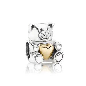 Charm Ourson Coeur Or (Pandora) Article N° 791166