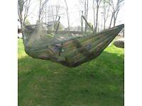 Travel Jungle Hammock with Mosquito Net