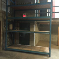 Warehouse Racking  (5 sections available now)
