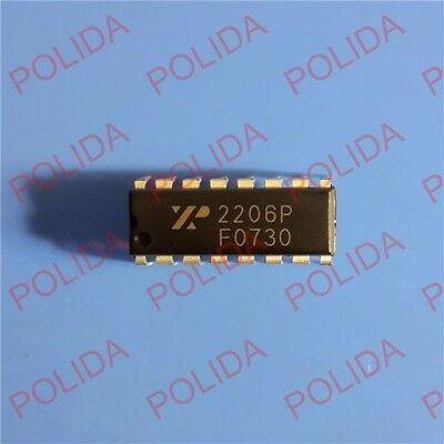1pcs Monolithic Function Generator Ic Exar Dip-16 Xr2206p 2206p