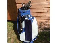 Set of Ladies Golf Clubs and Trolley