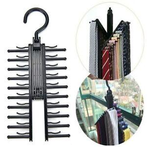 Men's Tie Rack, Belt Rack Scarf Rack SAVE SPACE!