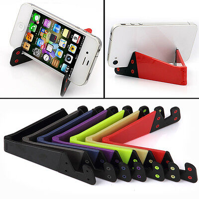 Universal Foldable Phone Stand Holder Smart Phone iPad Tablet PC Widely usageGIR