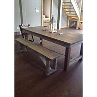 FARMHOUSE TABLE Brand New &/Or Bench(es)