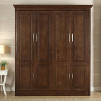 Murphy Wall bed Coventry King Size solid wood