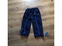 Fresh flames women's blue cropped jeans size 16