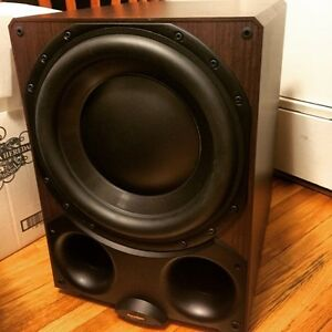 "Paradigm DSP-3400 14"" powered subwoofer"