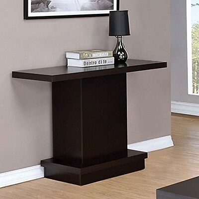 $103.79 - Coaster Home Furnishings 705169 Sofa Table Cappuccino NEW