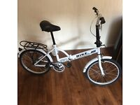 Ladies folding bicycle